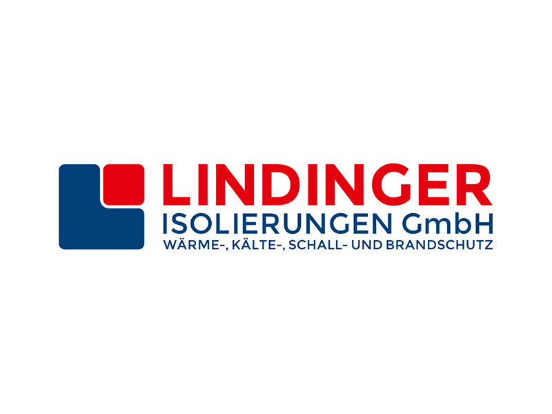Logoredesign für LINDINGER ISOLIERUNGEN aus Anthering.