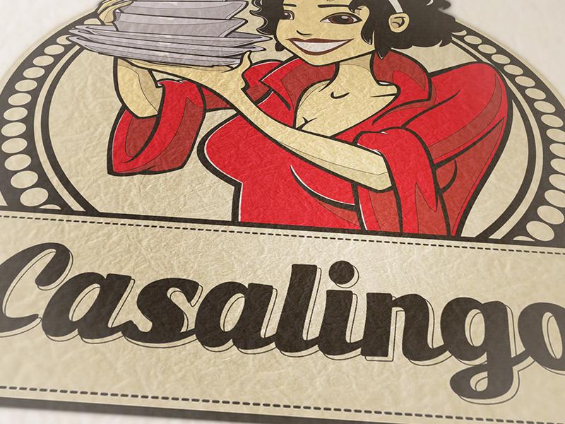 Logoentwicklung für Casalingo.