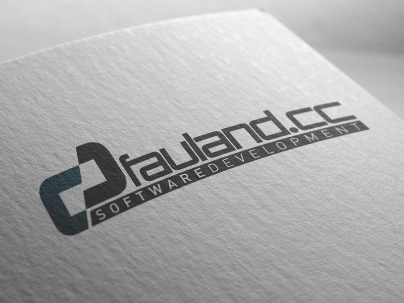 Logoentwicklung für das Softwarehaus: fauland.cc