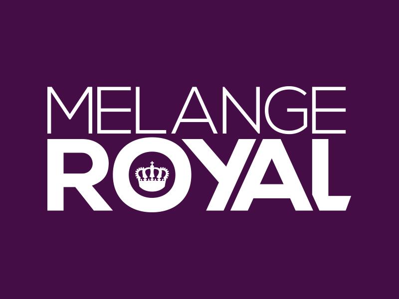 Logogestaltung für die Band MELANGEROYAL aus Salzburg.