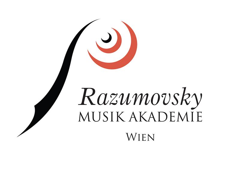Logoentwicklung für die Razumovsky Musik Akademie Wien.