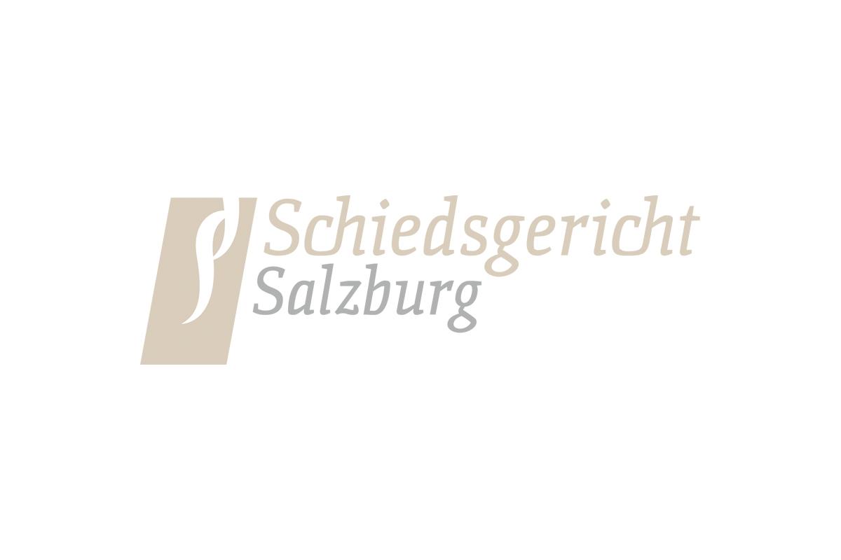 Logodesign für das Schiedsgericht Salzburg