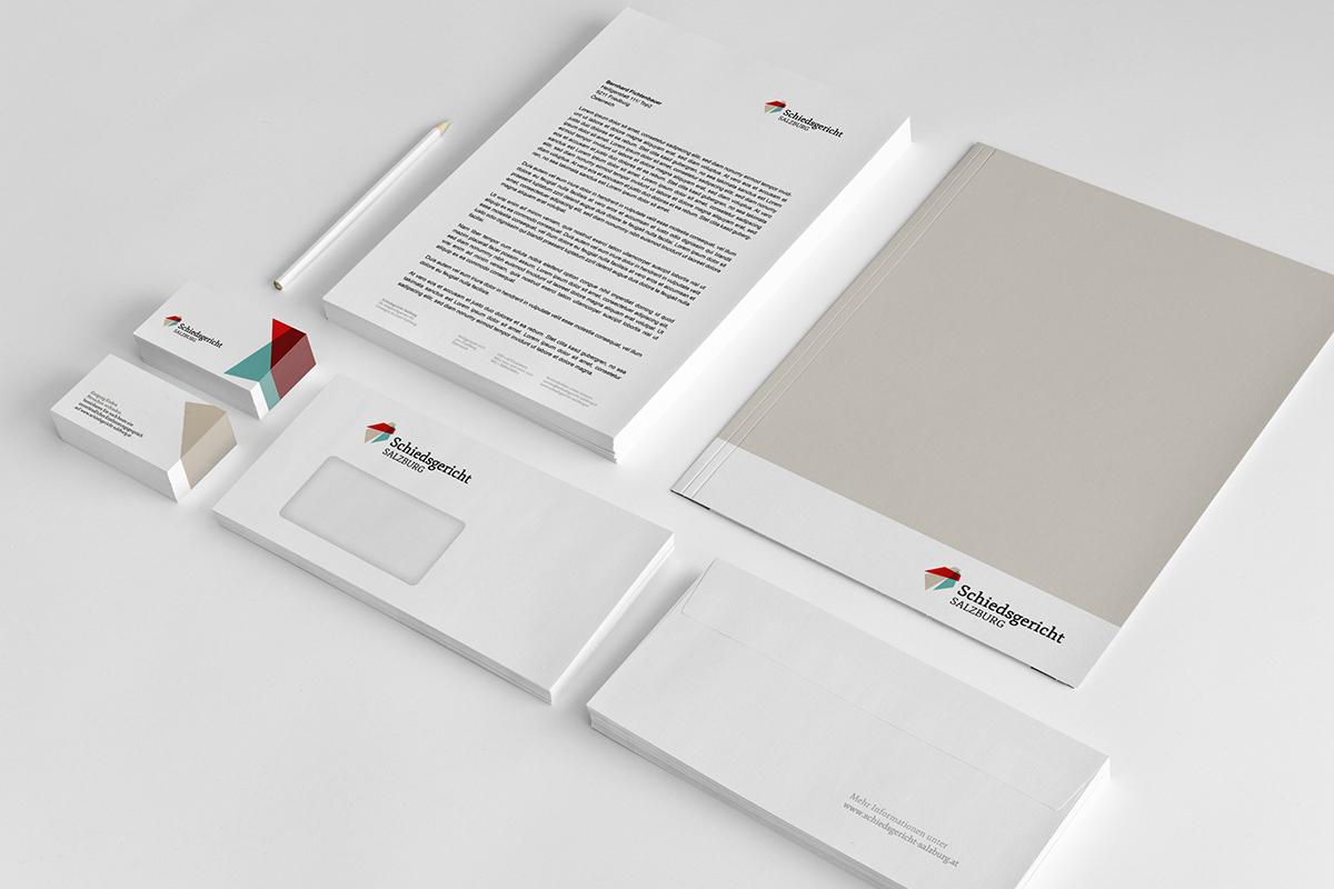 Corporate Identity für das Schiedsgericht Salzburg
