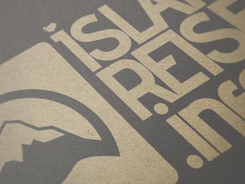 Logoentwicklung für das Unternehmen islandreisen.info