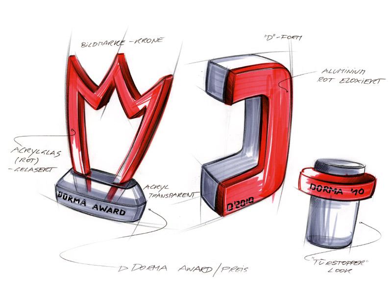 Konzeption und Gestaltung des DORMA Interior Award.