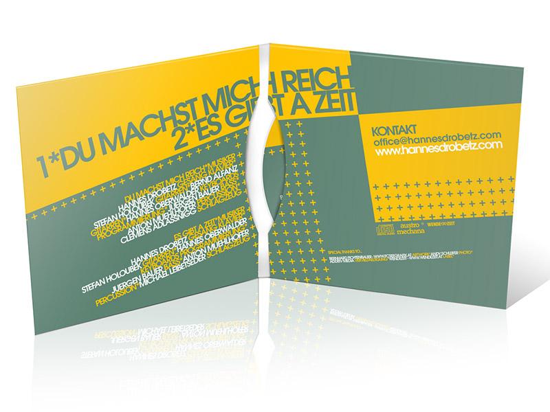 Gestaltung des CD-Covers