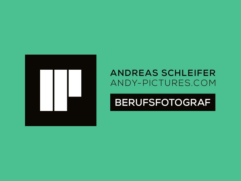 Logoentwicklung für den Fotografen Andreas Schleifer.