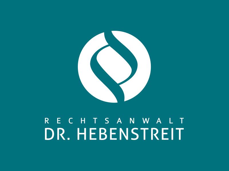 Logoentwicklung für die Rechtsanwaltskanzlei Dr. Johannes Hebenstreit aus Salzburg