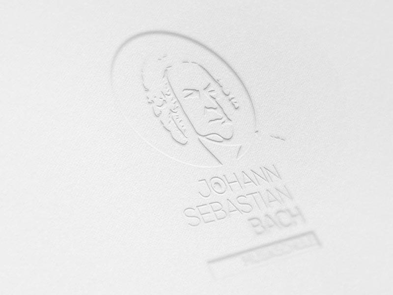 Logoentwicklung für die Veranstaltungsserie rund um Johann Sebastian Bach.