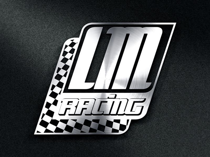 Logoentwicklung für LM Racing - das Motorsportteam von Leon Lambing.