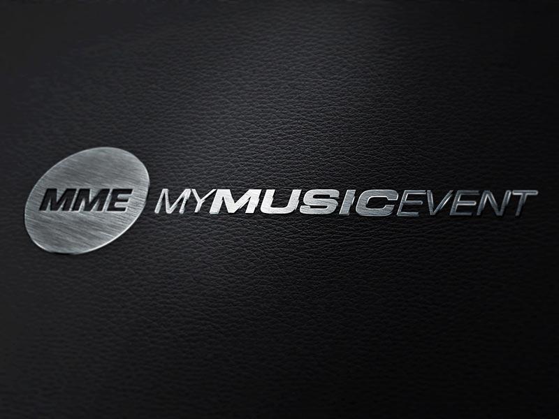 Logoentwicklung für MYMUSICEVENT.