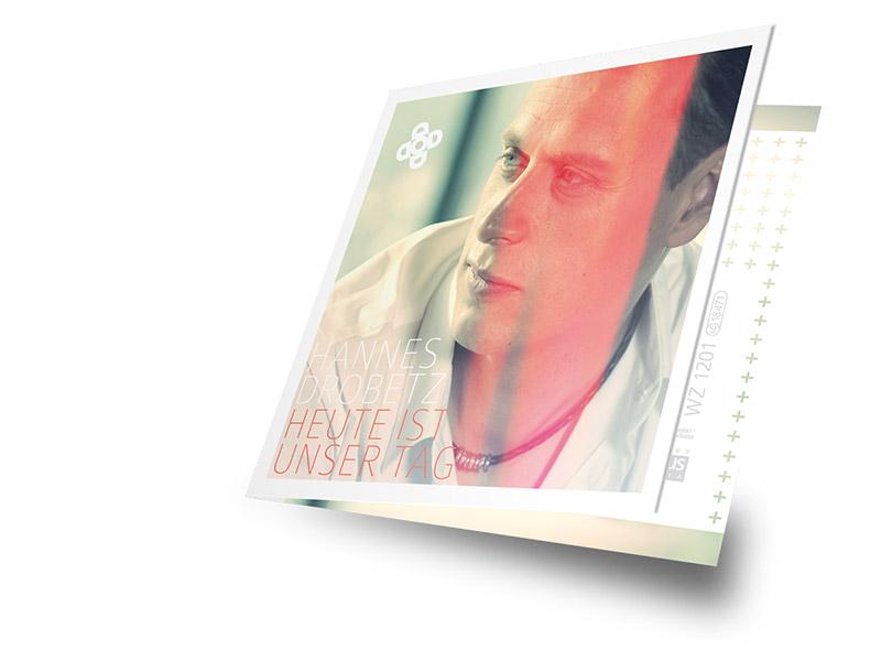 Gestaltung des CD-Covers für die Singel