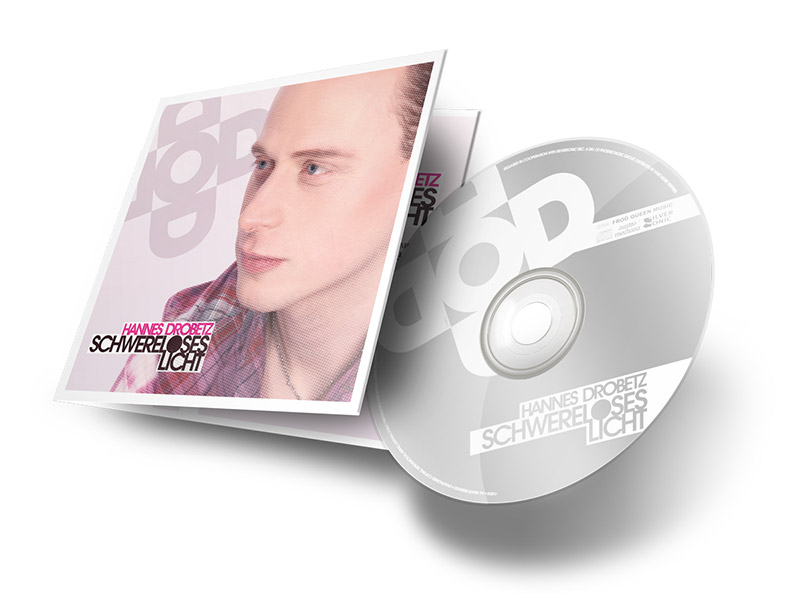 Gestaltung eines CD-Covers für die neue CD von Hannes Drobetz