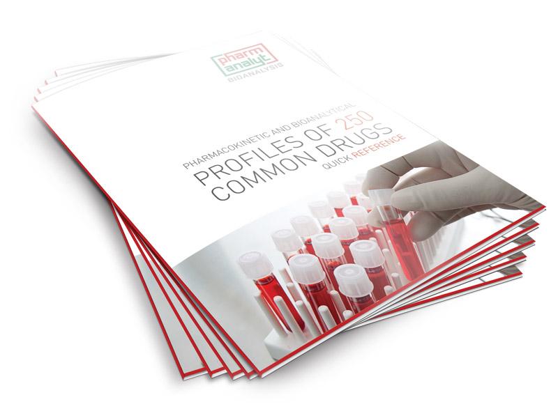 PROFILE OF 250 COMMON DRUGS - Informationsbroschüre für PHARMANALYT