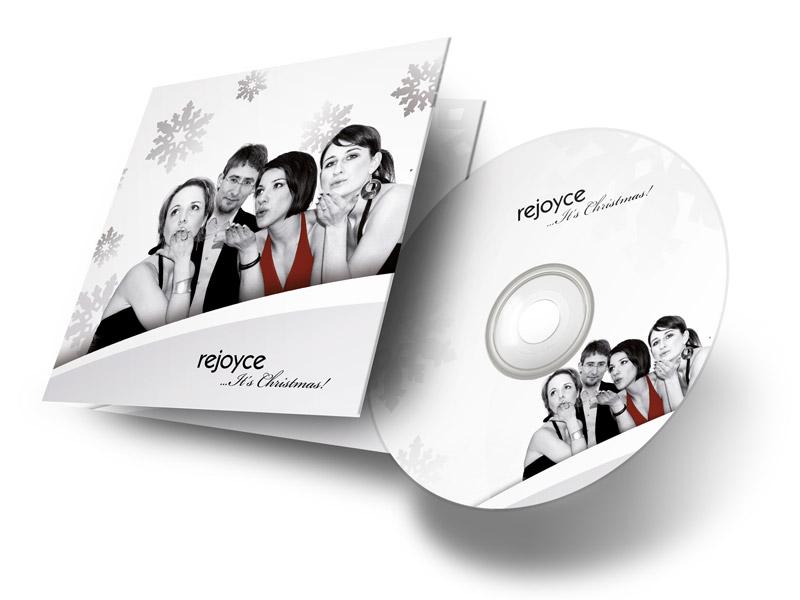 Gestaltung eines Weihnachts-CD-Covers für rejoyce
